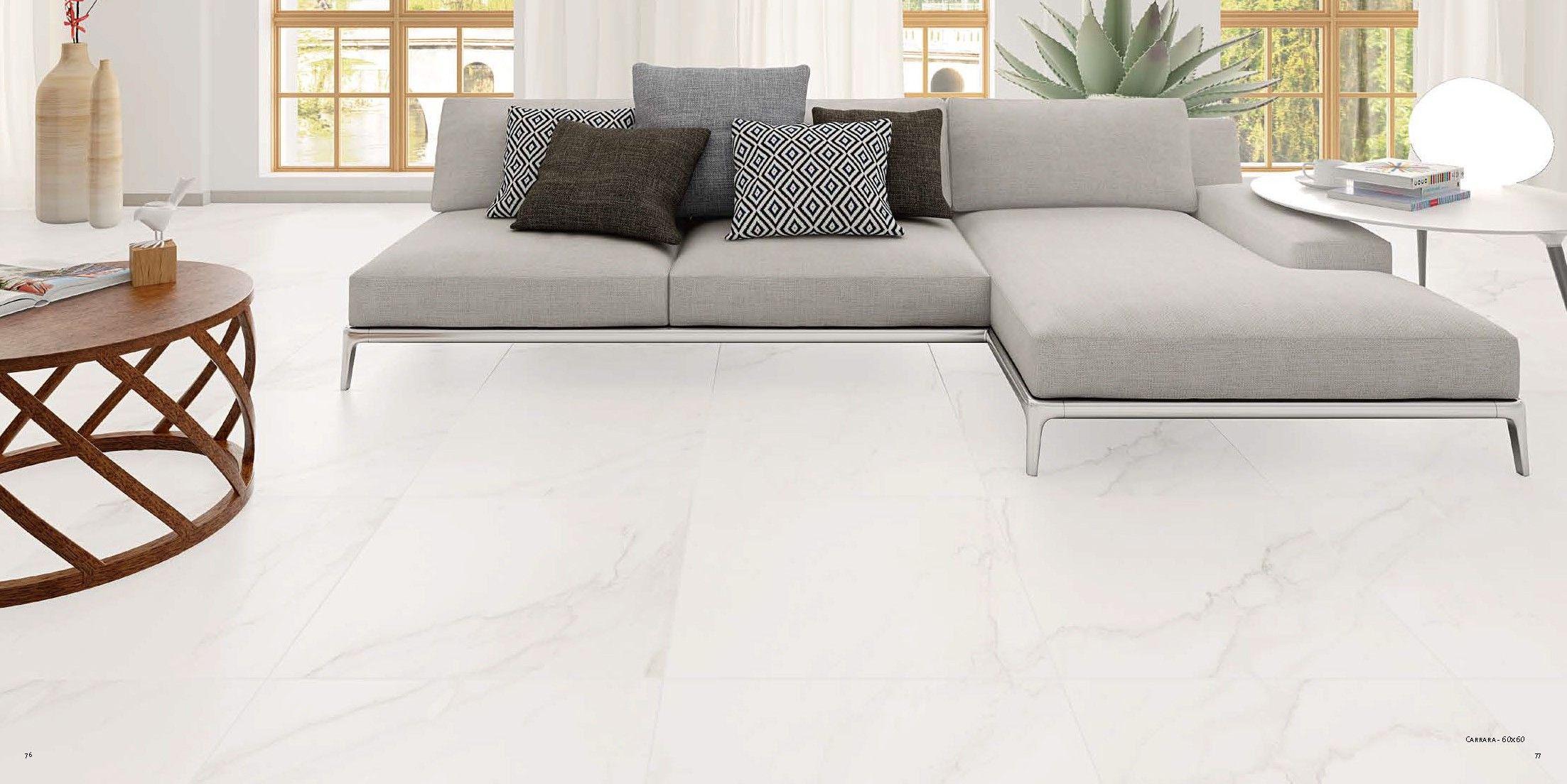 Marmores Carrara 60x60 Carrelage Marbre Blanc Carrelage Marbre