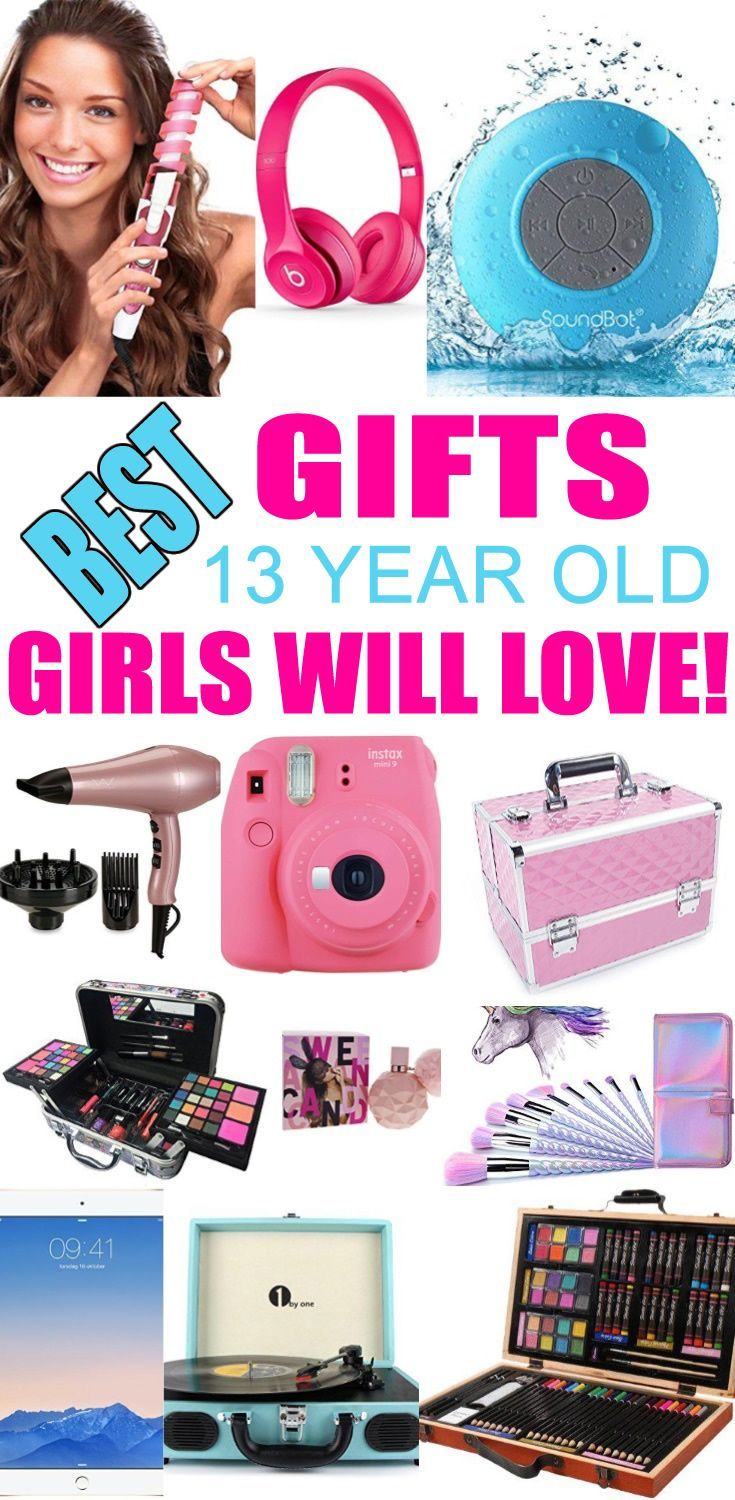 Top Gifts For 13 Year Old Girls Best Suggestions Presents A Thirteenth Birthday Christmas Or Just Because Find The Gi