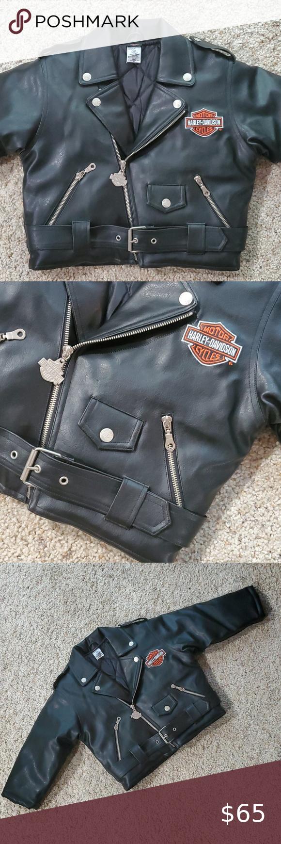 Harley Davidson Toddler Pleather Moto Jacket Harley Davidson Jacket Pleather Moto Jacket [ 1740 x 580 Pixel ]