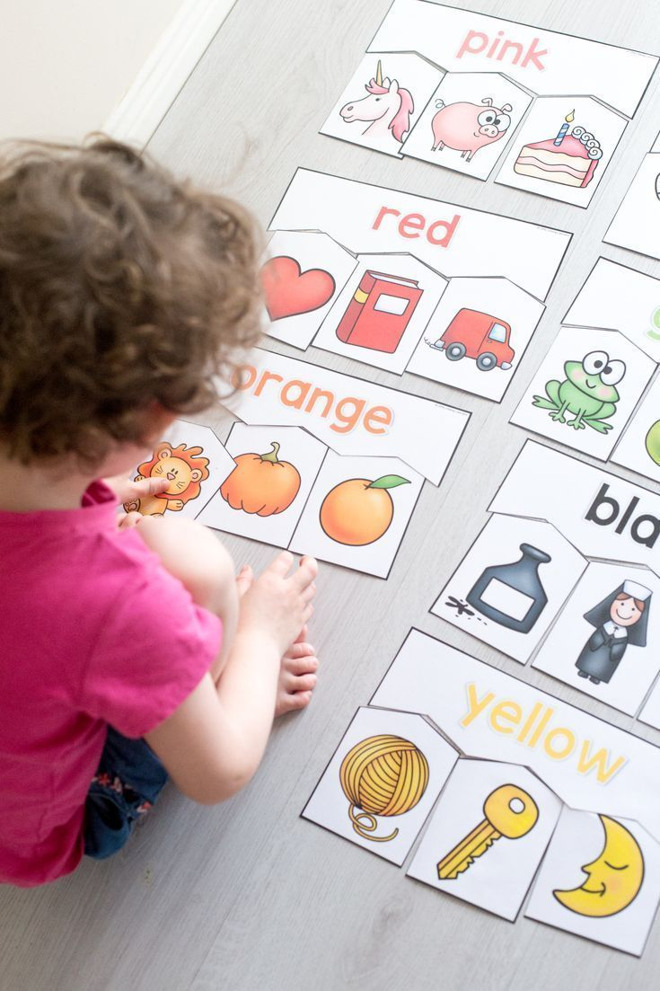 Colour Puzzles for Toddlers and Preschoolers - Little Lifelong Learners
