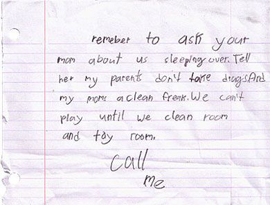 Kids love letter - Write a letter to your kid on special occasion ...