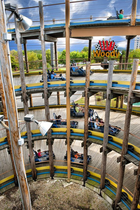 Take The Kids Go Carting This Summer On A Sweet Four Story Track