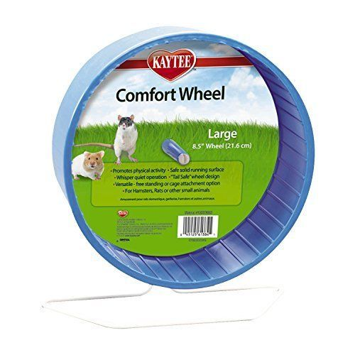 Details About Comfort Exercise Wheel Large 8 5 For Hamsters Gerbil Hedgehogs Small Kaytee
