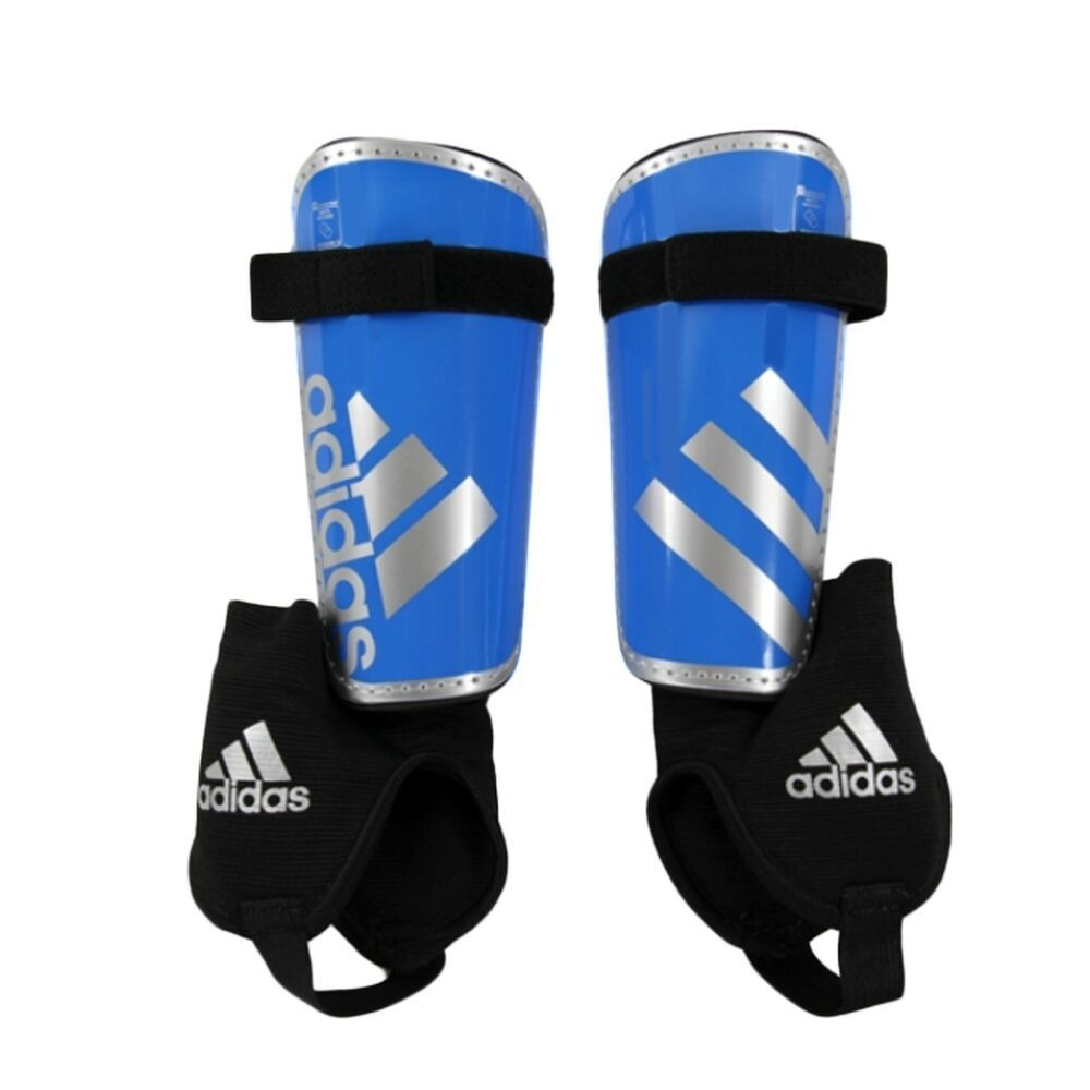 Adidas Youth Ghost Soccer Shin Guards Size Large Nib Blue Silver Adidas Soccer Shin Guards Boots Men New Adidas
