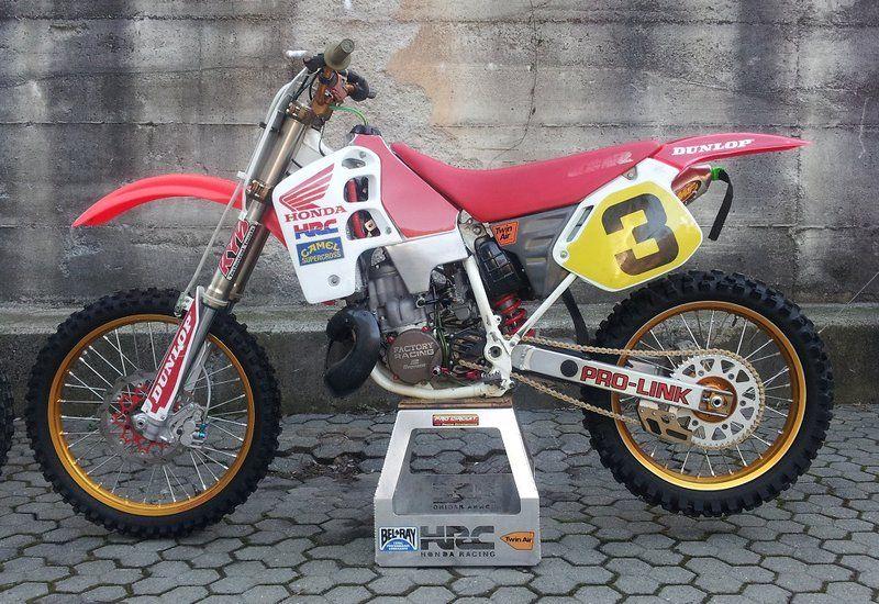 Honda Cr500 Vintage Dirt Bikes Pinterest Honda Motocross