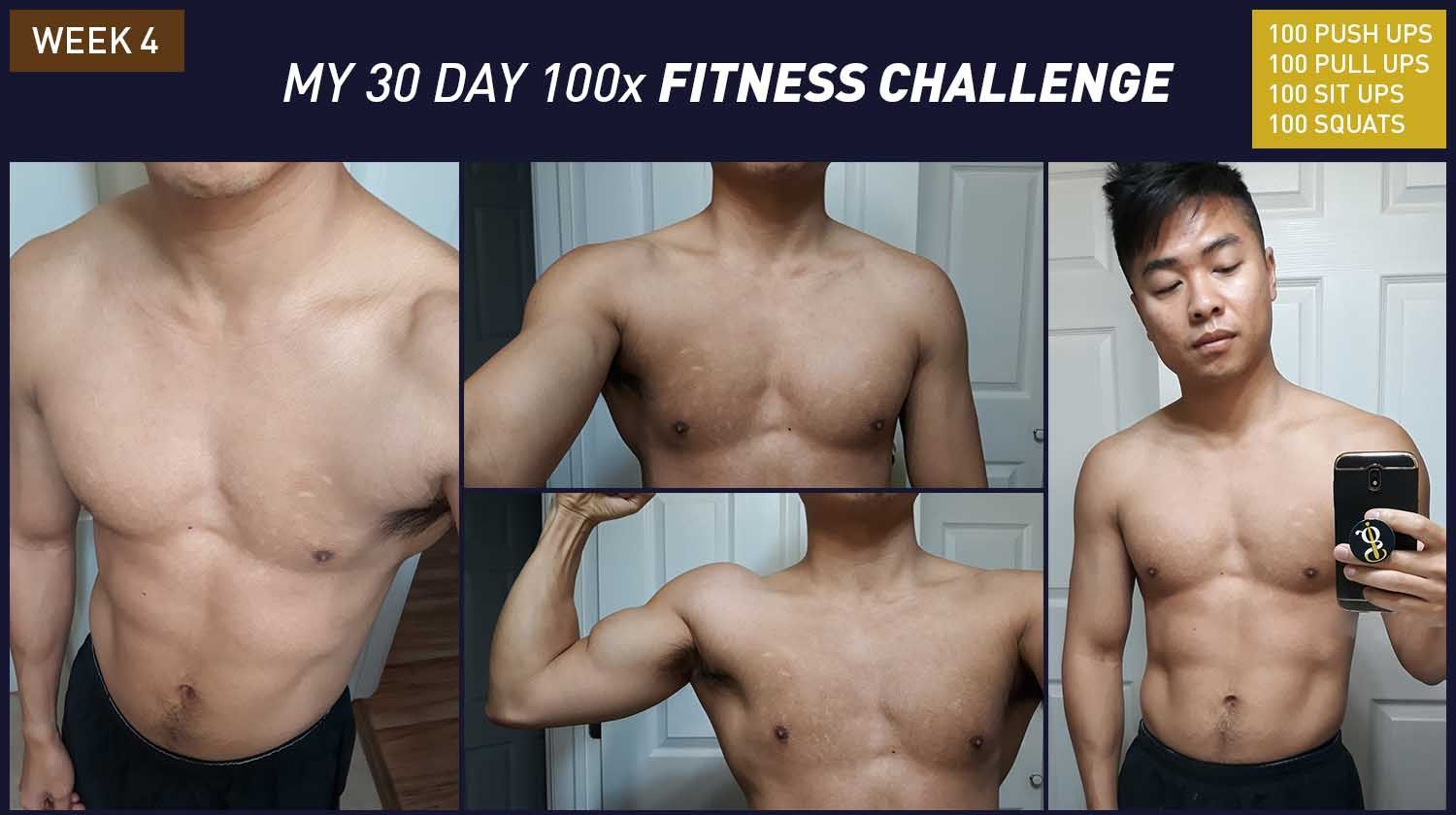 100 push up results