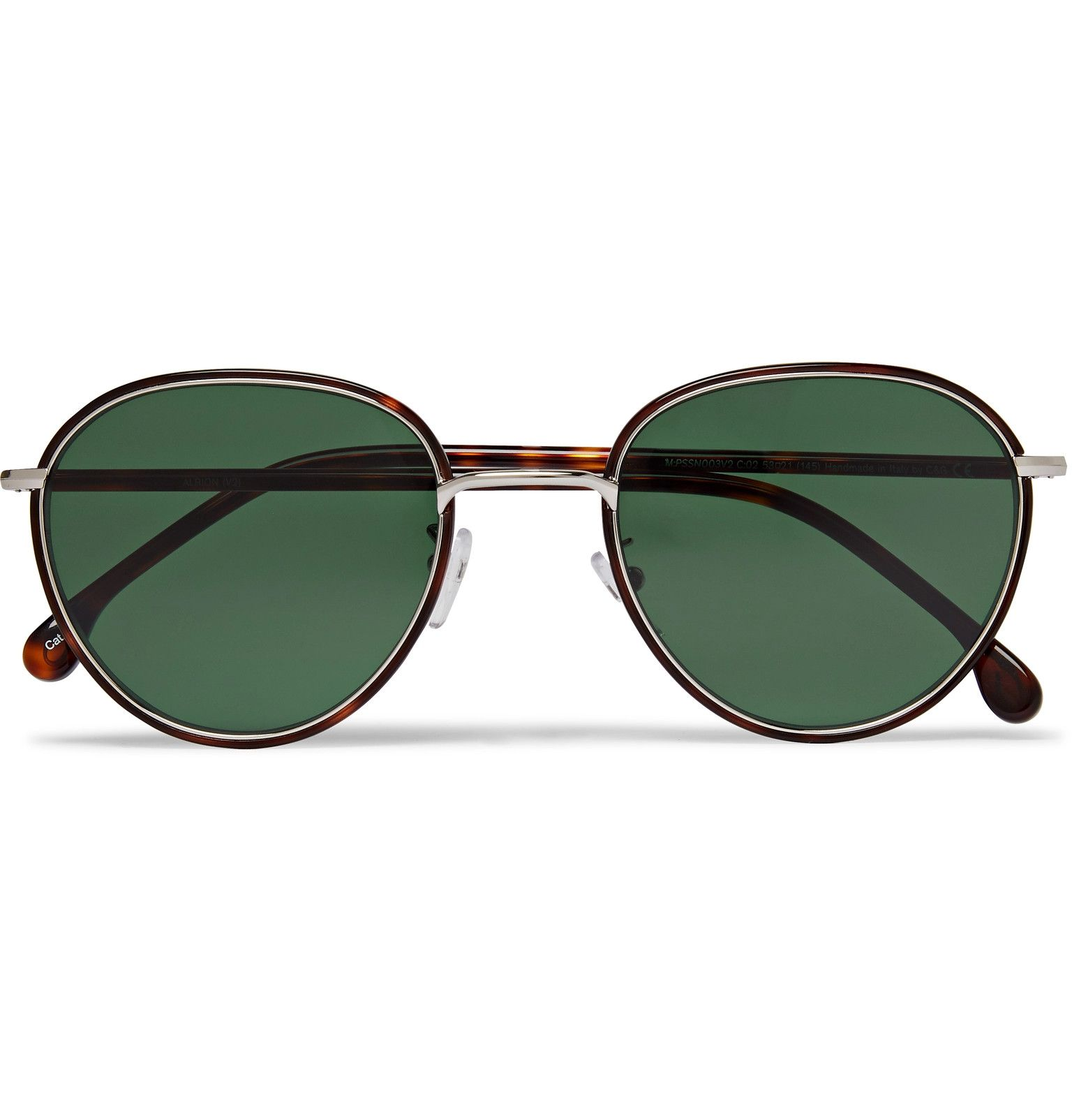 Paul Smith Albion Round Frame Tortoishell Acetate and