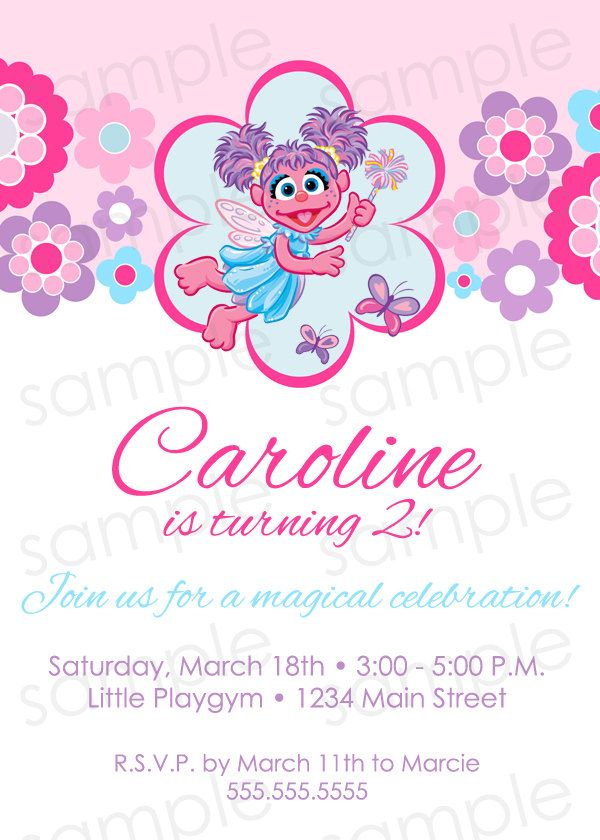 abby cadabby invitation Sophias 2nd Birthday – Abby Cadabby Birthday Invitations