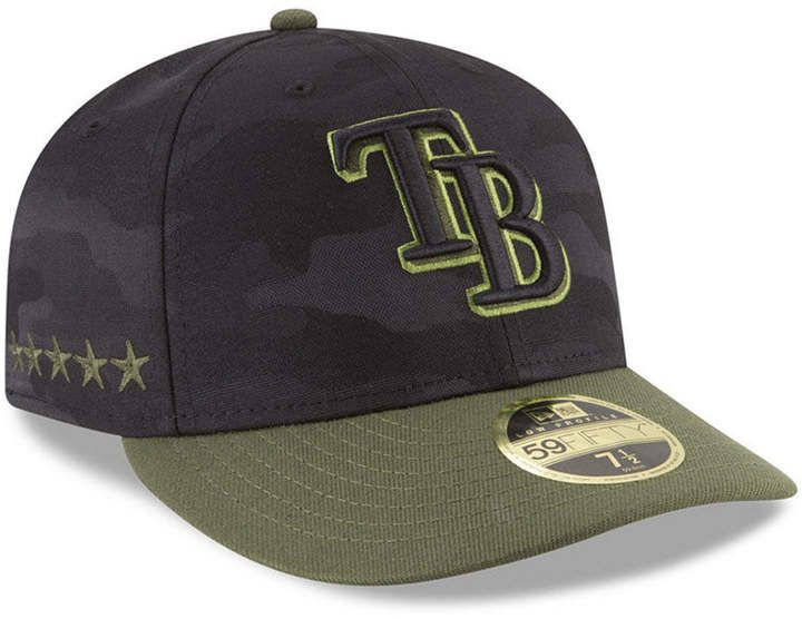 exclusive deals exquisite style multiple colors New Era Tampa Bay Rays Memorial Day Low Profile 59FIFTY Fitted Cap ...