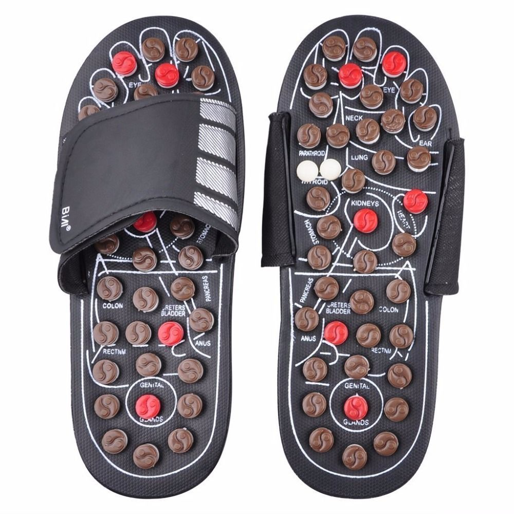 Fußmassage Hausschuhe Gesundheit Schuh Sandalenmassagen Reflexzonenmassage Füße Ältere Gesunde Pflege Prod In 2020 Reflexology Sandals Foot Massage Reflexology Massage