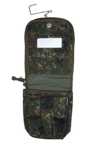 157921261f Miltec Flecktarn Camouflage Travel Wash Bag -- Learn more by visiting the  image link.(This is an Amazon affiliate link and I receive a commission for  the ...
