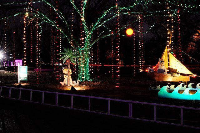 Dsc 4248 Light Trails Lights Holiday Decor