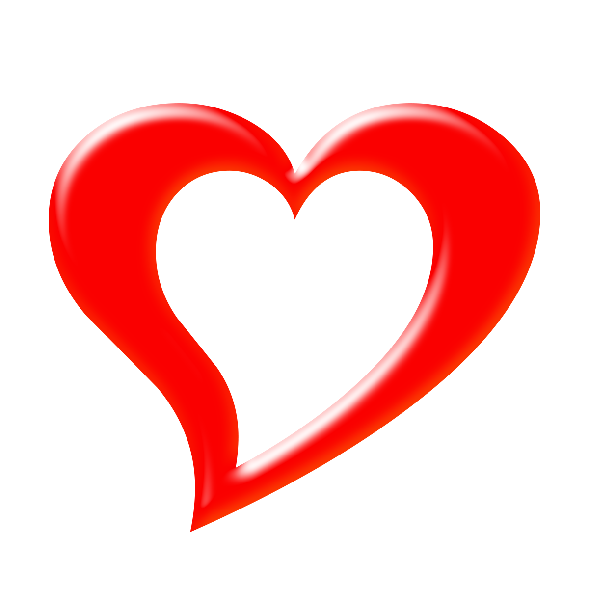 Free Download High Quality 3d Png Heart Transparent 3d Red Shinning Heart Its A Good Quality Shining 3d Heart Transparent It Is Not Only F Png 3d Heart Image