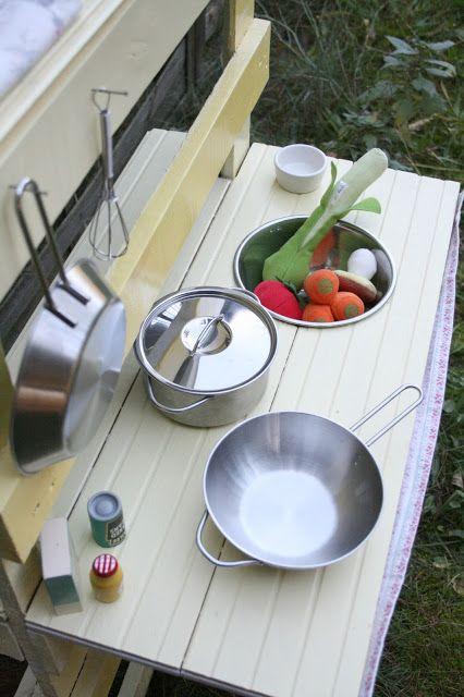 Kuchenka Ogrodowa Dla Dziecka Diy Saute Pan Kitchen Home