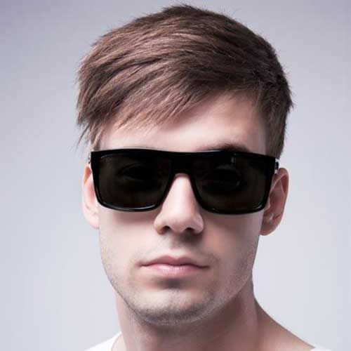10 Mens Hairstyles For Fine Straight Hair 2017 Throughout Short Men