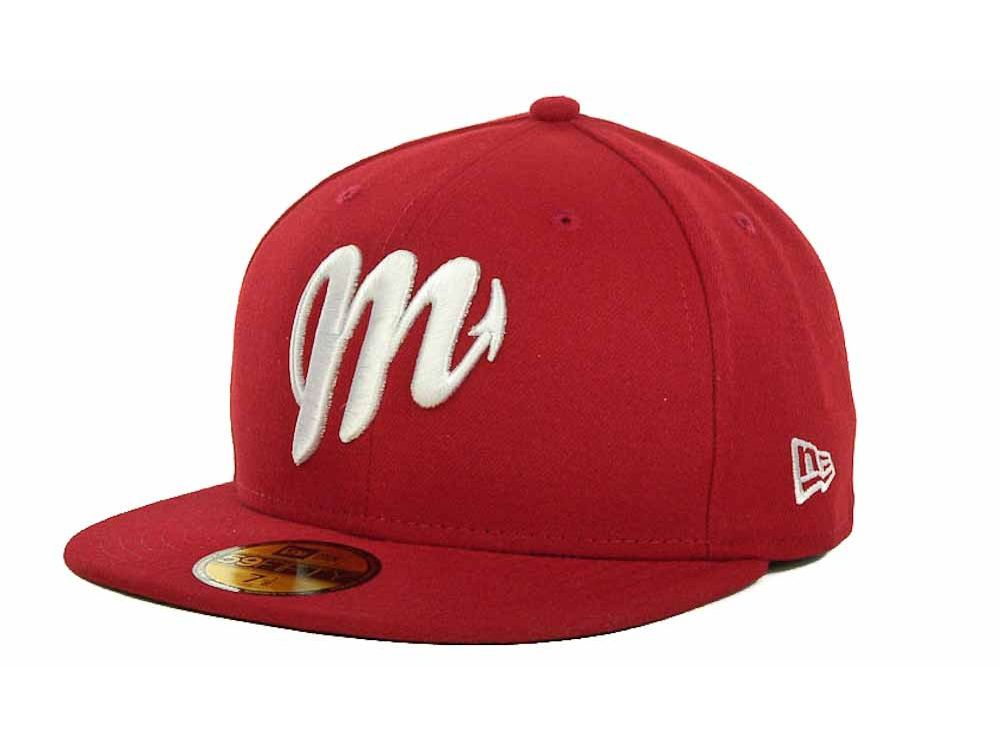 Diablos Rojos del Mexico New Era Mexican Pro 59FIFTY Cap  be79c919cc2