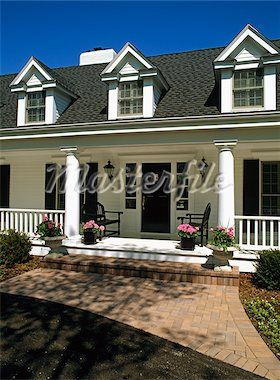 White Brick House Black Shutters Google Search Outdoor