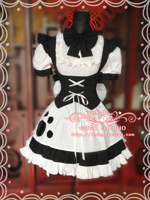 Mother cat ears cat maid outfit maid dress women COSPLAY Meng Mother  essential - Taobao 4993e953e689