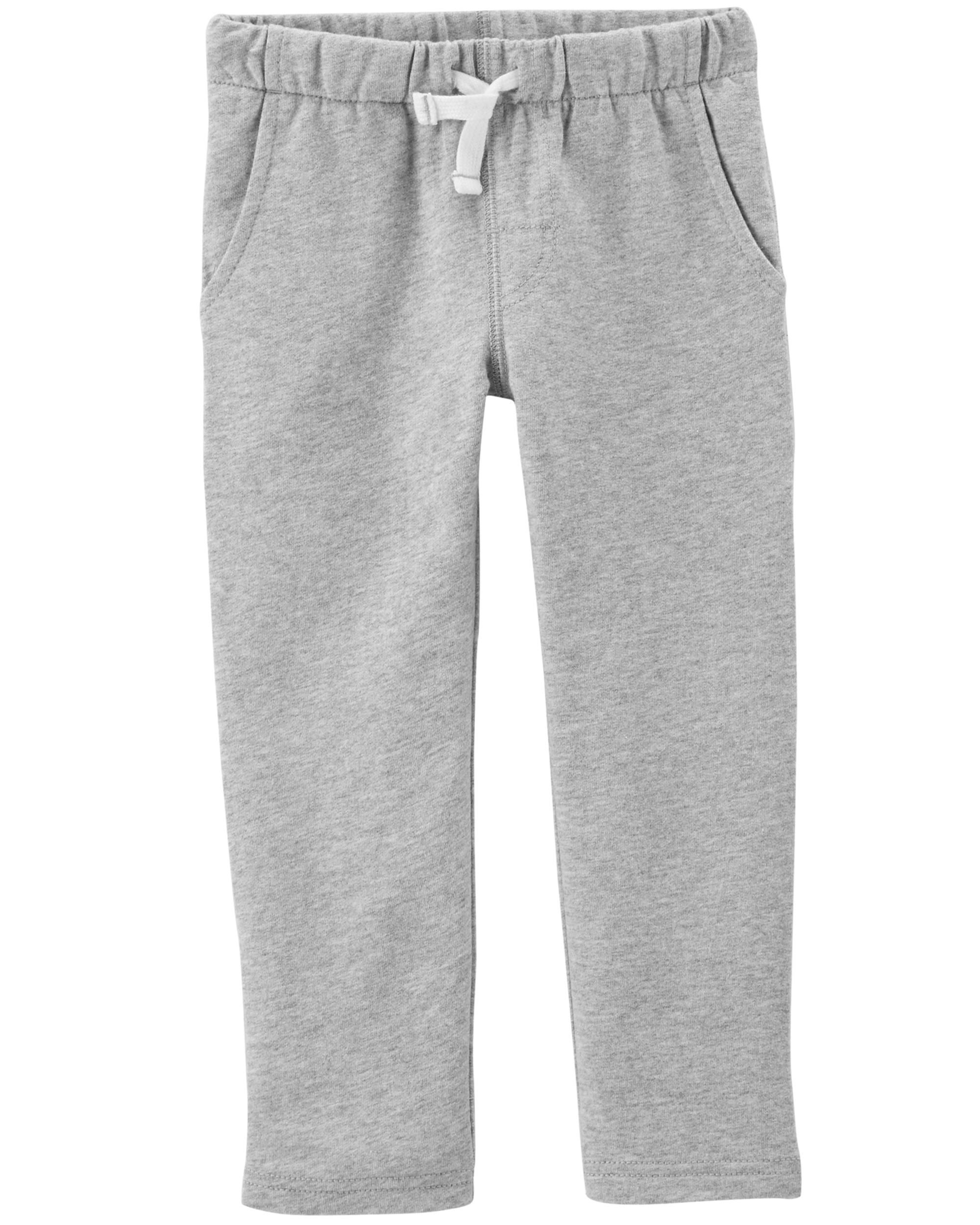 83286907e4ca1 Pull-On French Terry Pants | carters | Toddler pants, Pants, Carters ...