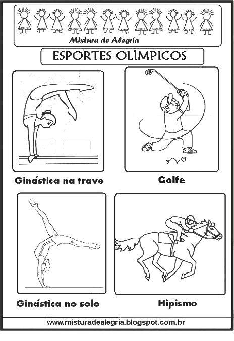Esportes Olimpicos Para Imprimir Colorir 286 29 Jpg 464 677 Com