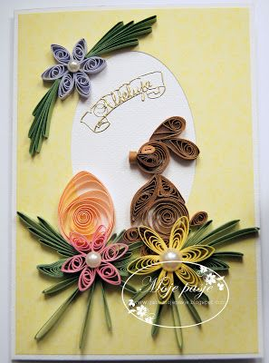Moje Pasje Quillingowa Wielkanoc Quilling Designs Quilling Christmas Quilling Cards