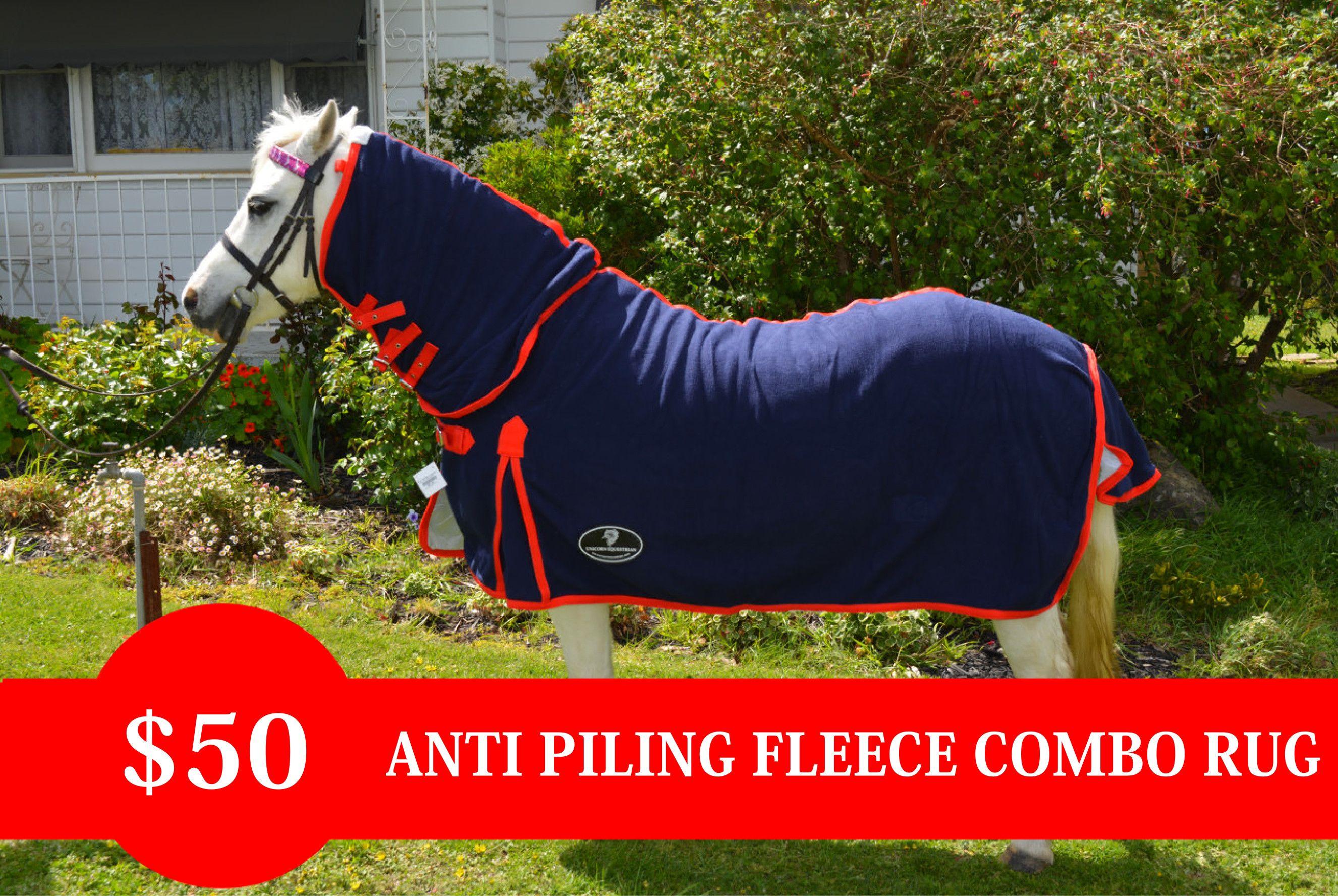 Miniature Antipiling Combo Fleece Rug