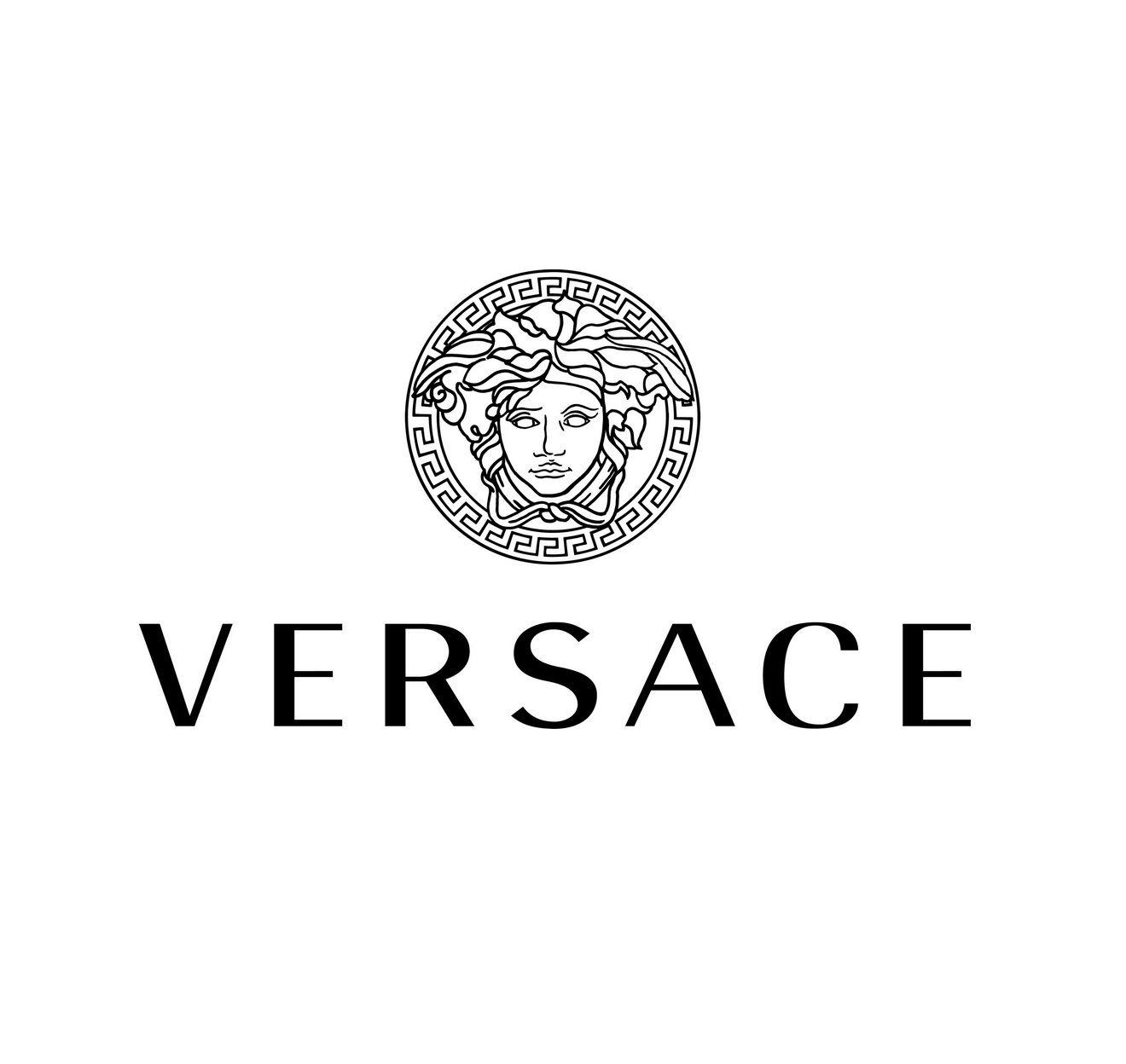 versace logo logos pinterest diy deko bilderrahmen. Black Bedroom Furniture Sets. Home Design Ideas