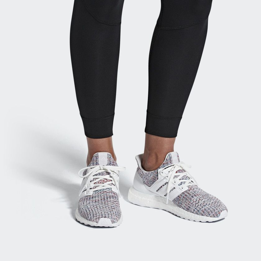 731951a8cbf43 Ultraboost Shoes Cloud White   Cloud White   Active Red DB3211