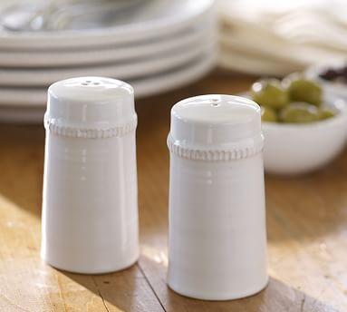 Gabriella Salt Amp Pepper Shakers White At Pottery Barn