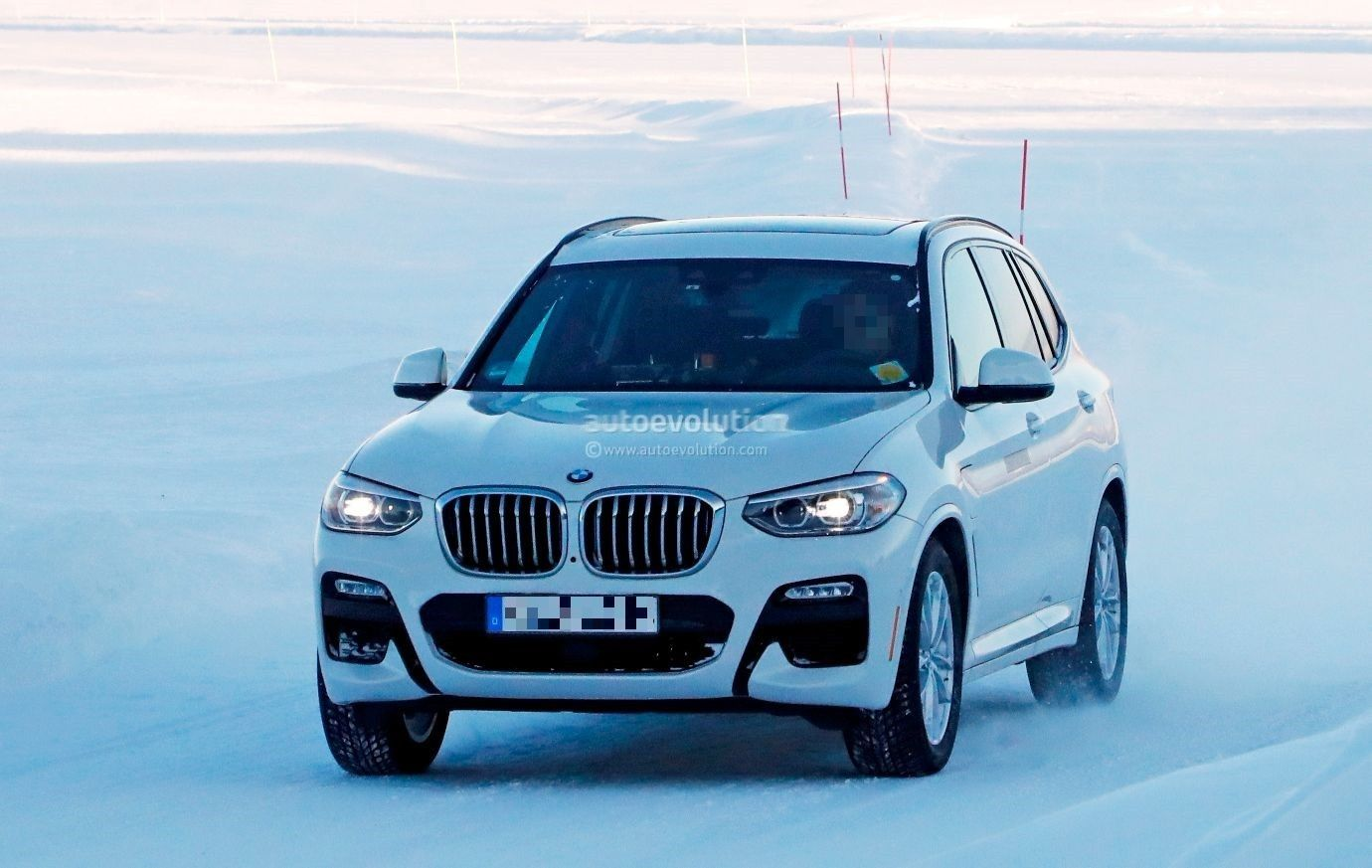 The 2020 Bmw Ix3 Is Validated This Is The Fully Electric Crossover Which Will At First Concern The Chinese Market We Make Certain That Some Sort Of A Test On