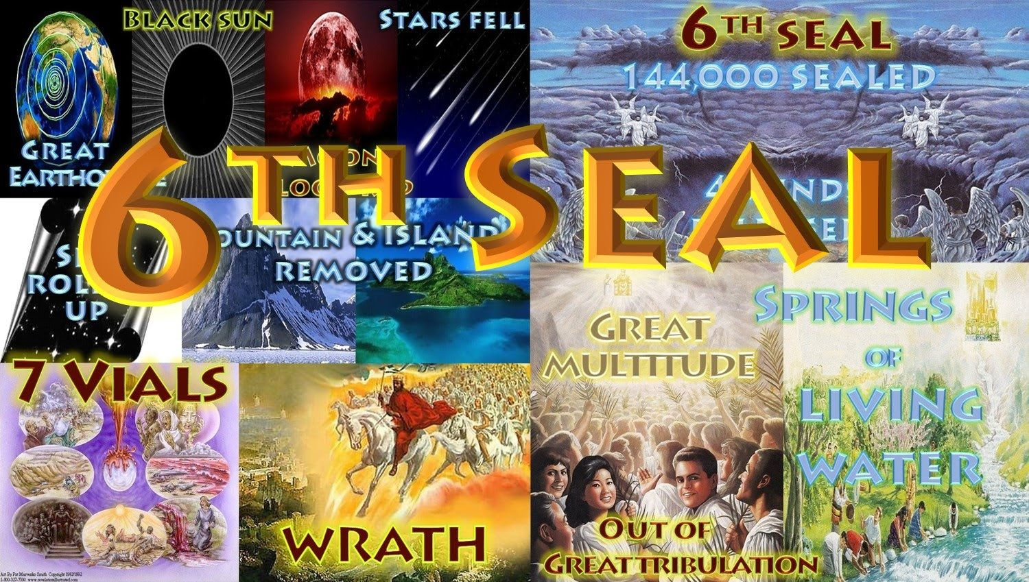 The 6th seal wrath salvation 7 seals of the book of the seal wrath salvation 7 seals of the book of revelation buycottarizona