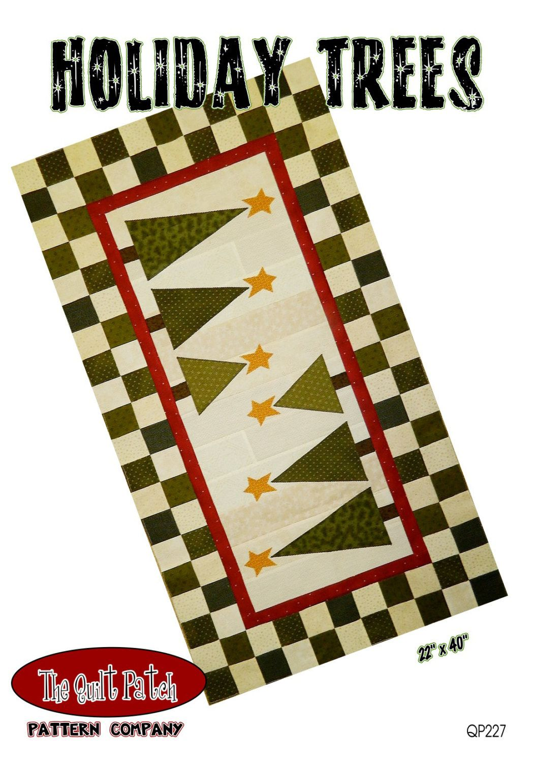 Christmas Tree Table Runner Pattern, Holiday Trees QP229 Quilt Patch, Quilted Table Runner, Applique Table Runner, Christmas Table Runner by AnnadaisysFabrics on Etsy https://www.etsy.com/listing/211023551/christmas-tree-table-runner-pattern