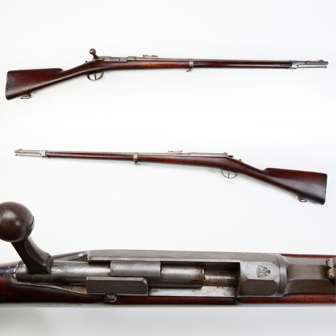 Mauser-Modified Chassepot Model 1866 - This French bolt-action rifle