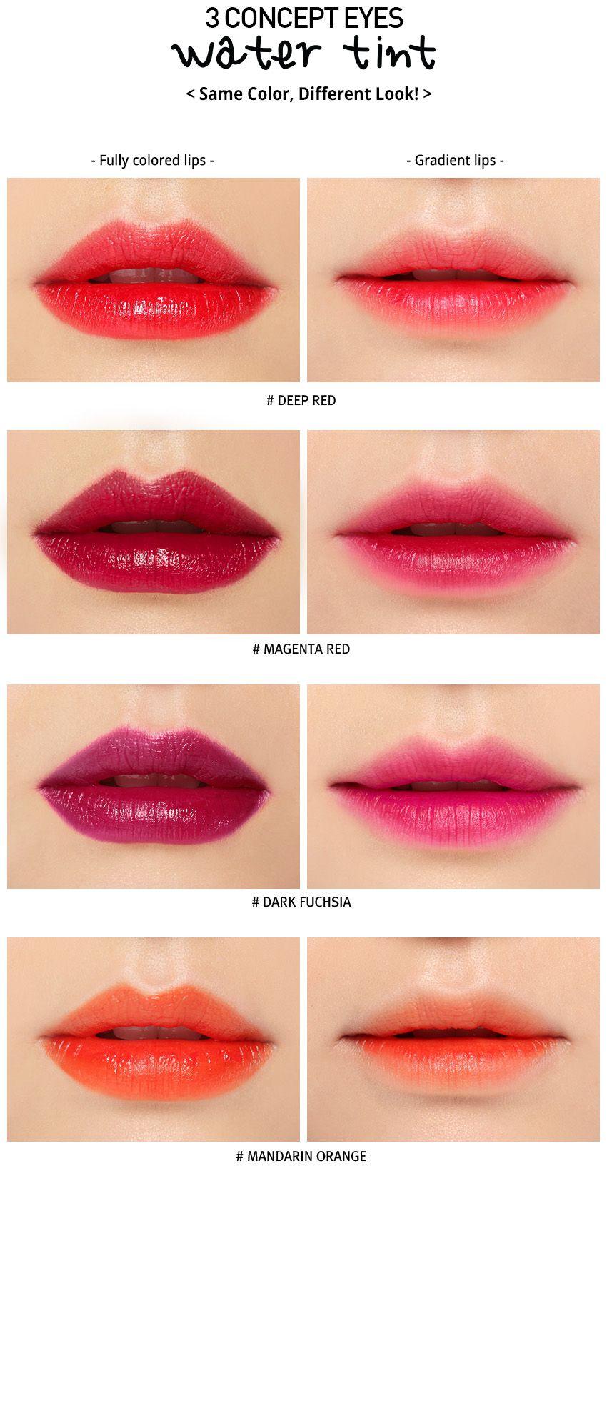 3ce Water Tint Dark Fuchsia Stylenanda Makeup Brushes Guide