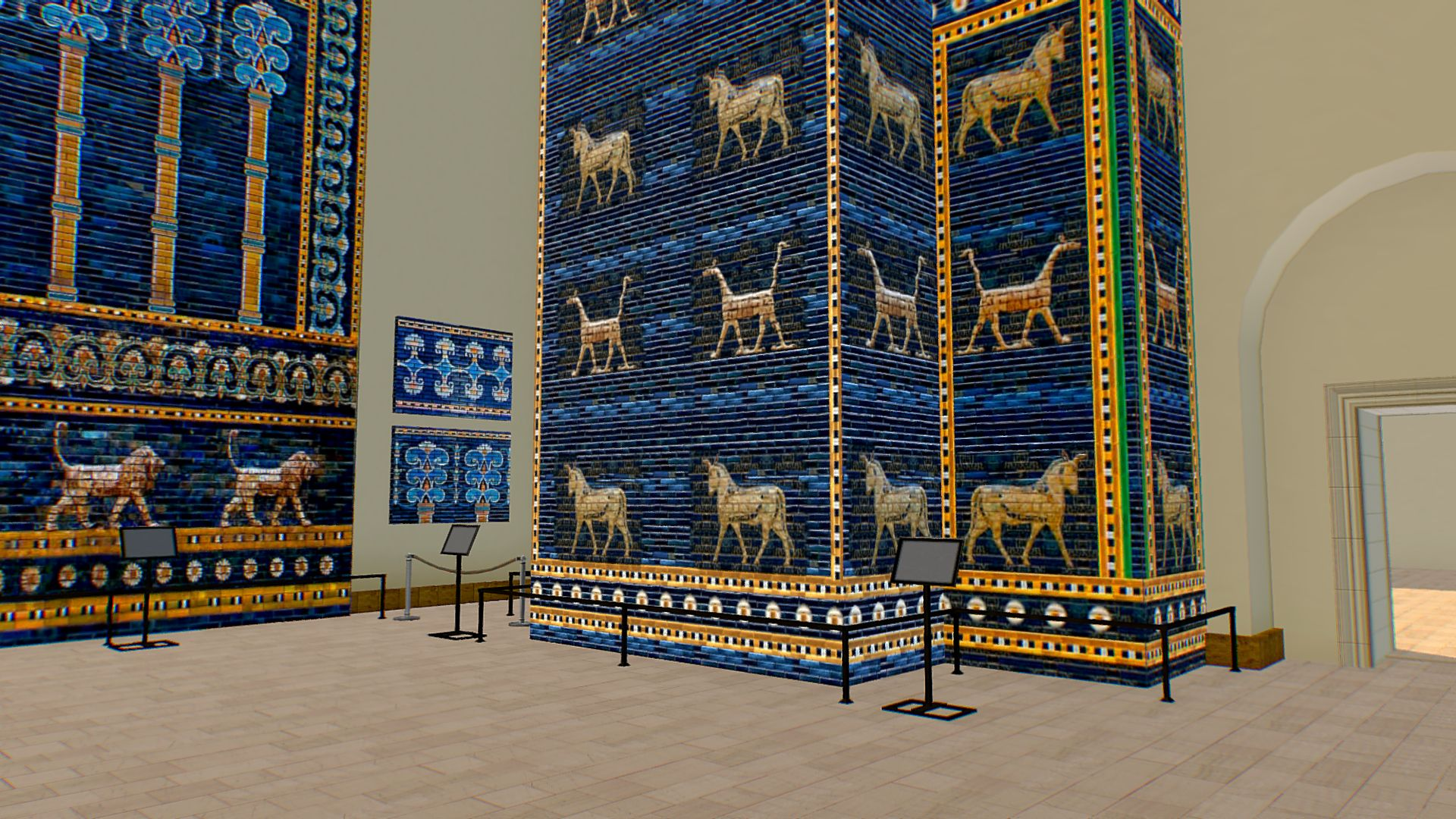 Pergamon Museum Babylon Mesopotamia Ishtar Gate Pergamon Museum Pergamon Ishtar