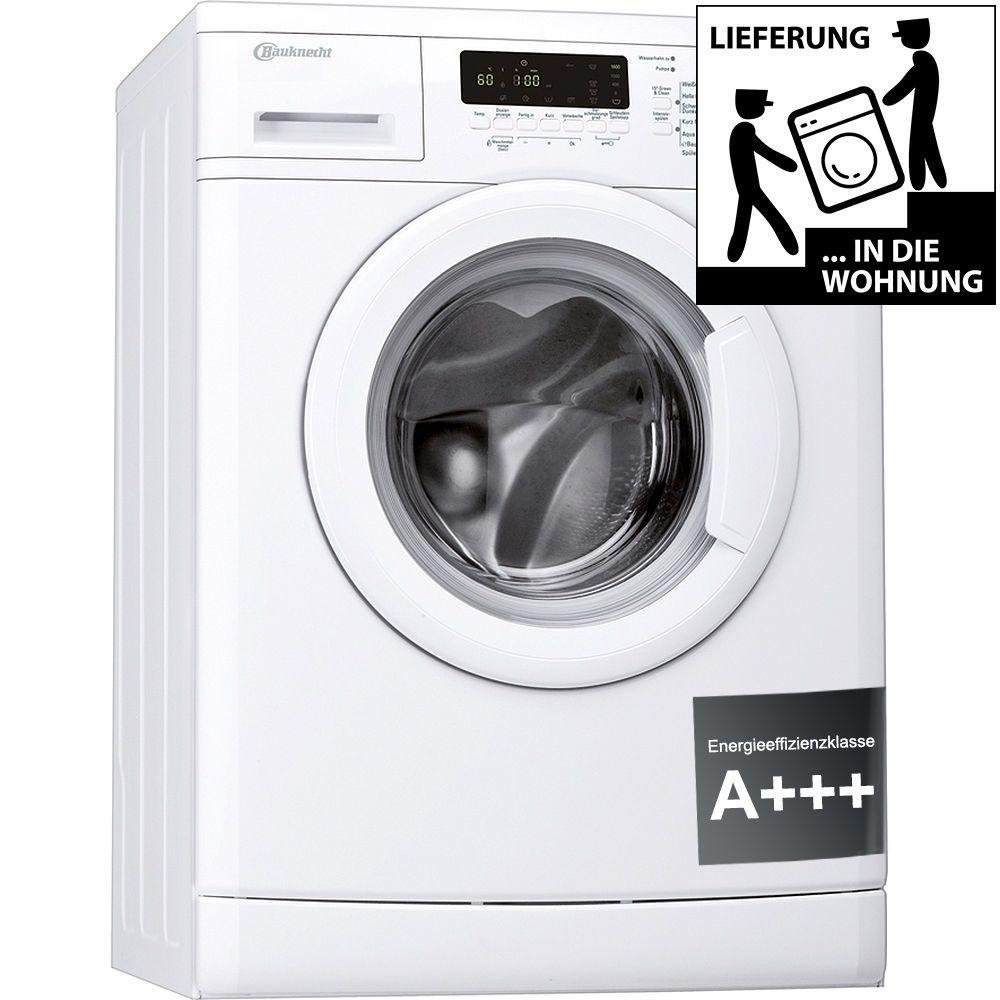 BAUKNECHT WA Care 824 PS Waschmaschine Frontlader A