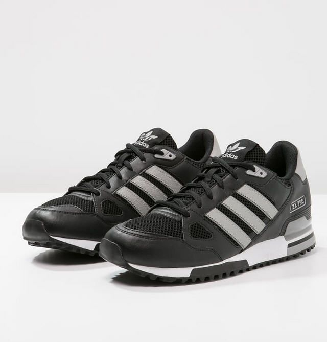 le dernier e8254 fd38b Adidas Originals ZX 750 Baskets basses core black/solid grey ...