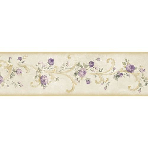 Borders by Chesapeake Betty Tearose Acanthus Trail 15' x 6