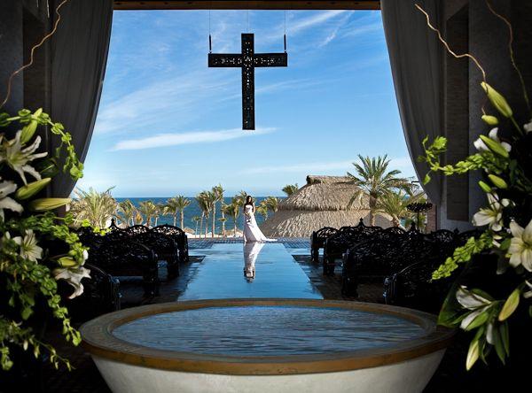 El Corazon Wedding Chapel Overlooking The Sea Of Cortez At Cabo Azul Resort