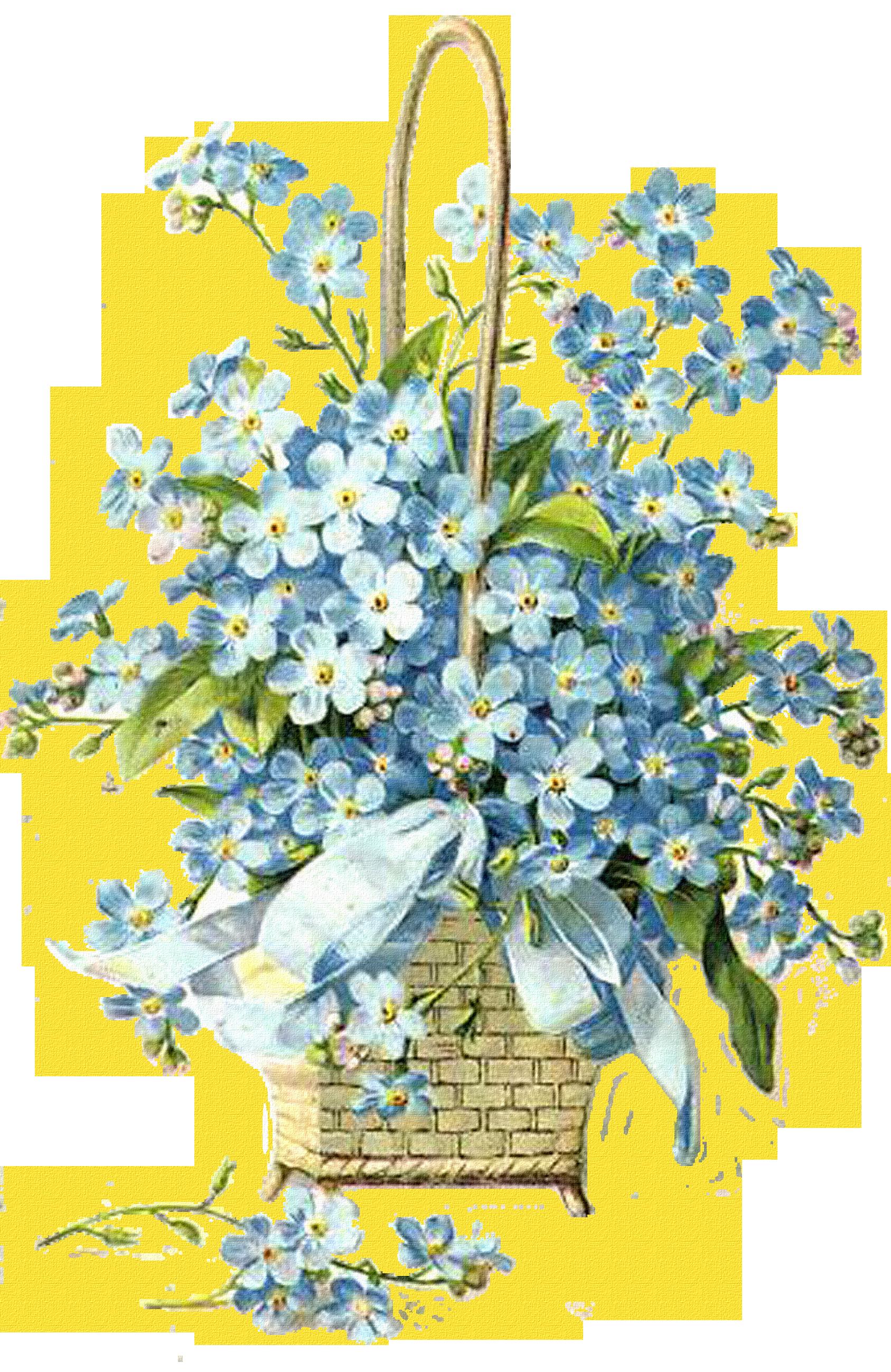 Happy Birthday Flowers Bouquet Vintage Floral Arrangements