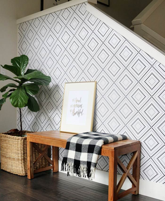 The Wallpaper Accent Wall Is The Budget-Friendly Decor Idea You Need