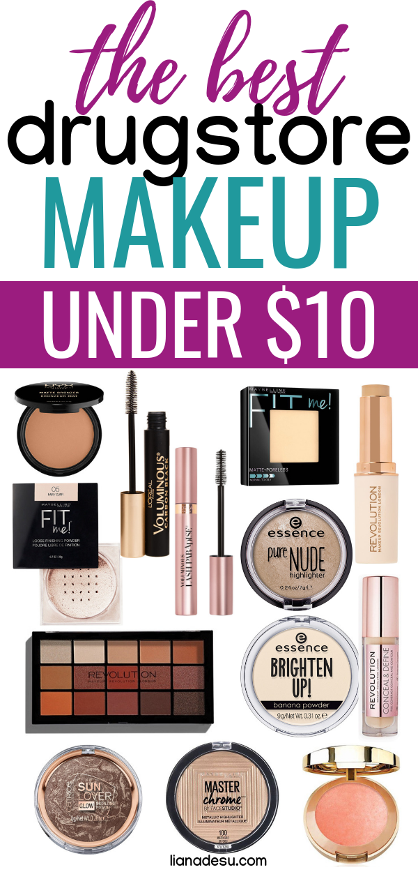 The Very Best Drugstore Makeup Under 10 Check Out These Must Have Drugstore Makeup Products In 2020 Best Drugstore Makeup Drugstore Makeup Beauty Products Drugstore