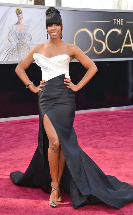 Kelly Rowland From 2013 Oscars Arrivals Academy Awards Red Carpet