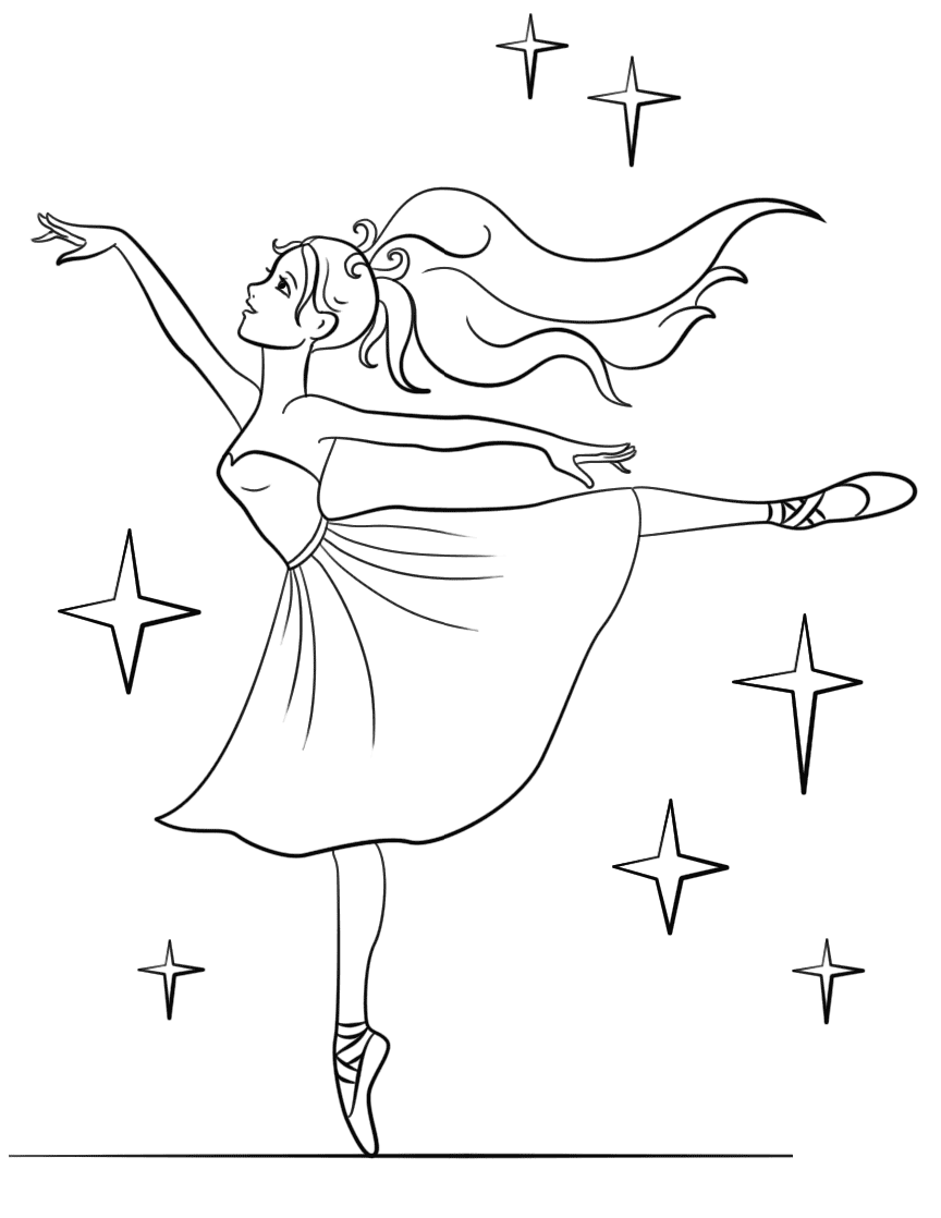 Top 10 Gorgeous Ballet Dancers Coloring Pages For Girls 2 Ballerina Coloring Pages Coloring Pages For Girls Barbie Coloring Pages