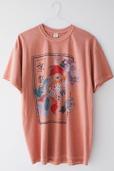 Beauty And Chaos Koi Fish T-Shirt Dress