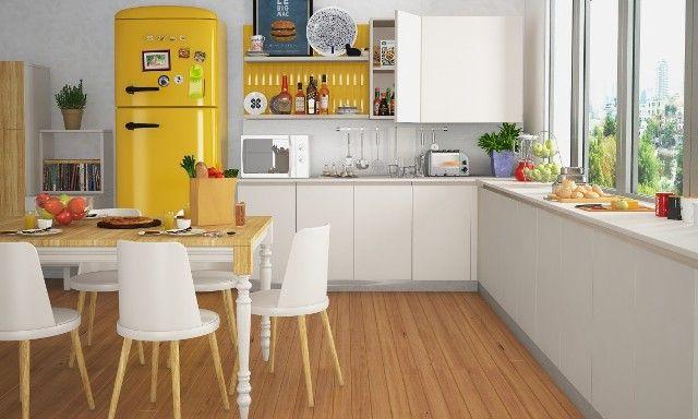 Diseño de cocinas pequeñas en forma de L - Uno de cocina de diseño ...