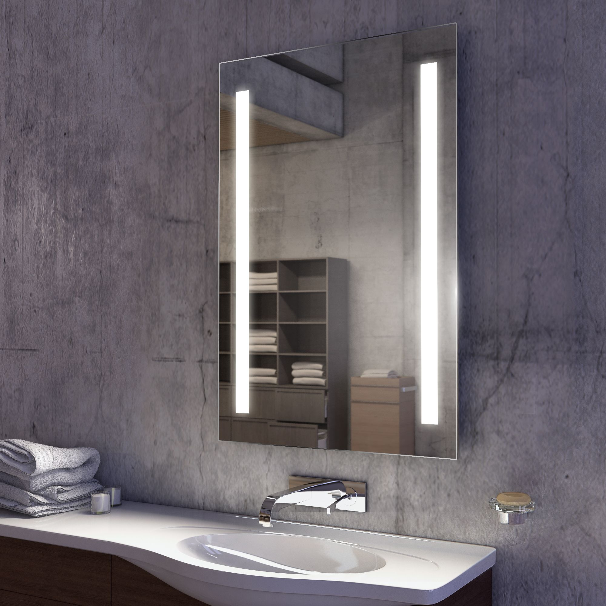 with cabinet attractive atom cabinets illuminated designer mirror homey inspiration bathroom led ideas light lights