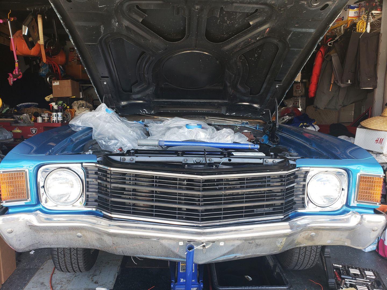 Grille 1972 Super Sport W In 2020 Super Sport Chevelle 72 Chevelle