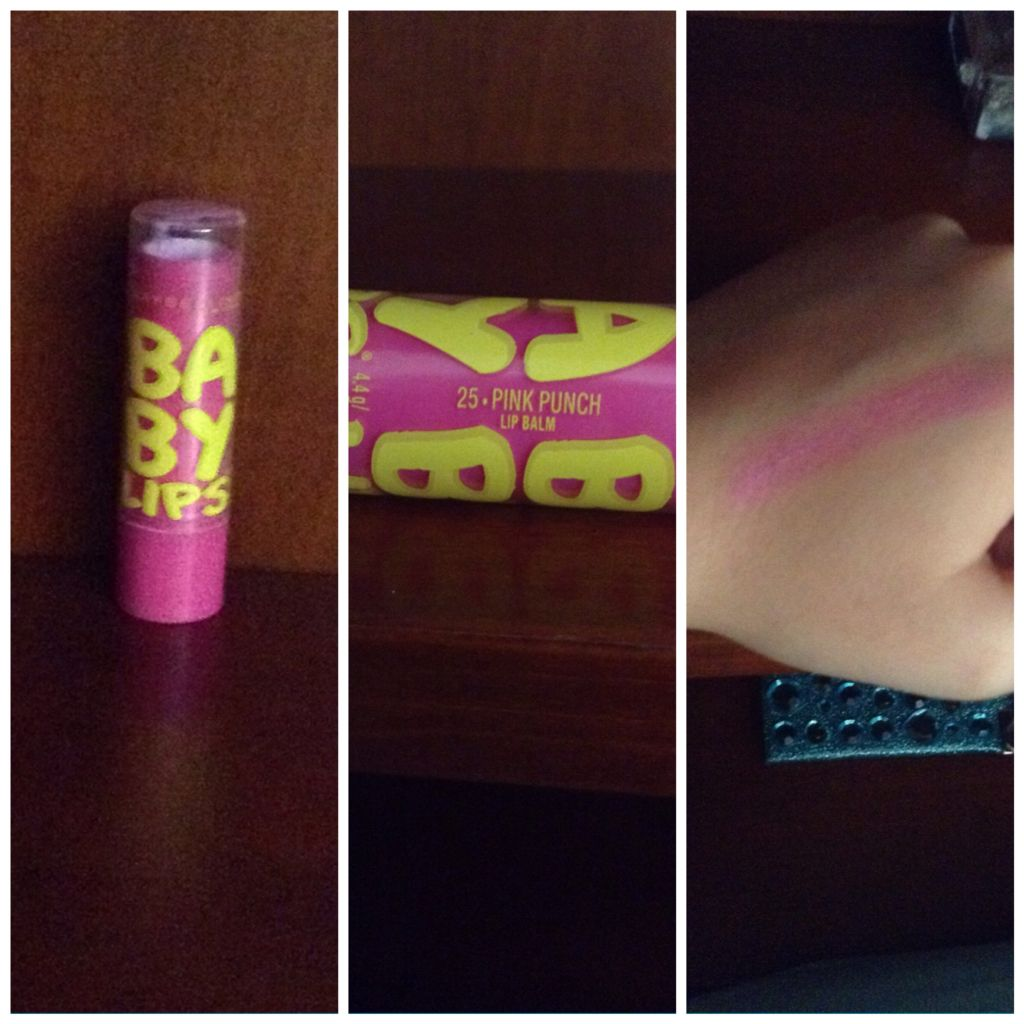 Pretty everyday lip color #babylips #pinkpunch #number25