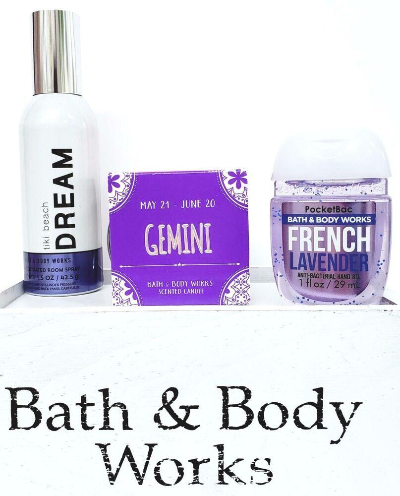 Gemini Moonlight Path Mini Candle Dream Room Spray Pocketbac